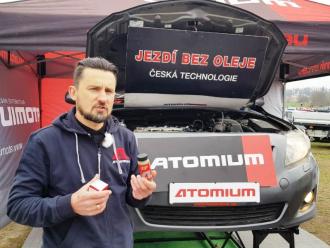 Atomium на Max cars Plus в Праге