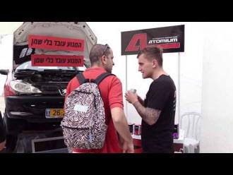 Atomium на выставке в Тель-Авиве [видео]