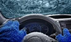 прогрев машины зимой