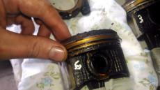 механическая раскоксовка колец