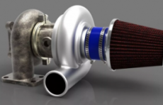 Турбина для двигателя
