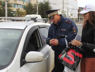 Волгоградская полиция раздавала Suprotec