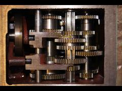 Обработка триботехническими составами компании Супротек масляной системы коробки передач токарного станка на Выксунском металлургическом заводе