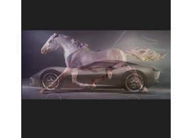 Мощный двигатель, лошадиная сила