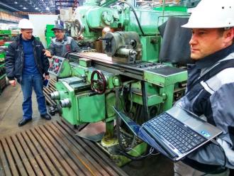 Фрезерные и токарные станки восстановили трибосоставами