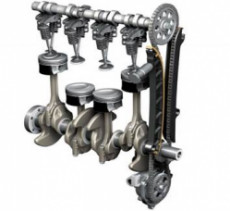 Схема двигателя. Работа над восстановлением компрессии