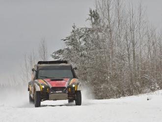 Команда Suprotec Racing участвует в гонке «Северный лес»