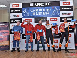 Раллийная команда Suprotec Racing выиграла «Снежную битву»