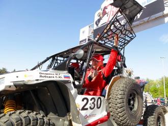 Команда «Suprotec Racing» продолжает путь по астраханским степям [фотогалерея]