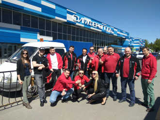 Команда «Супротек» прибыла в Крым