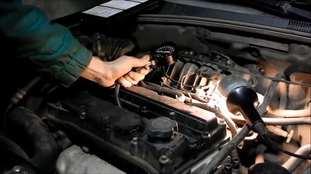 проверка троения двигателя